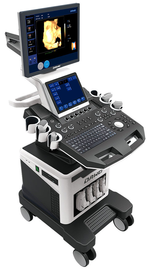 Dw T6 The Top Trolley 4d Color Doppler Ultrasound Machine